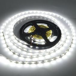 7000K 5630 Cool White 16ft/5m 300LEDs Non-waterproof LED Lig