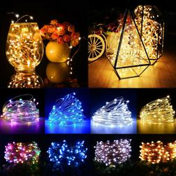 8 Functions LED String Fairy Lights with IR Remote Control C