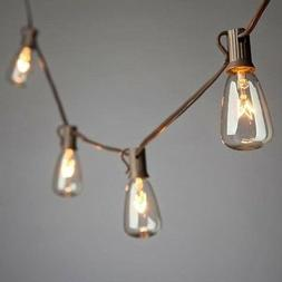 Gerson 93368 - 20 Light Brown Wire  Light String with ...