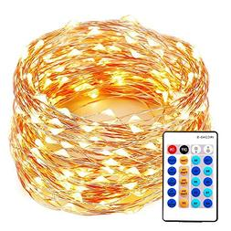 xtf2015 99FT 300LEDs String Lights, Waterproof Dimmable Deco