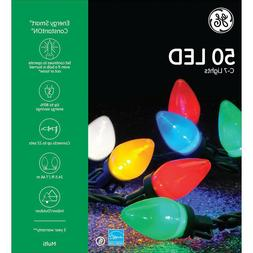 NEW - GE Energy Smart Colorite 50-Light LED Multi-Color C7 L