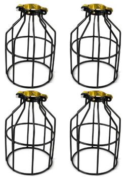 Newhouse Lighting Metal Lamp Guard for Pendant String Lights