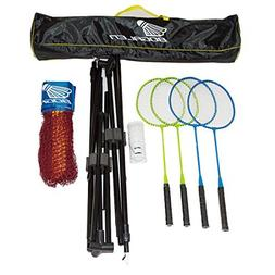 Bogalen Height Adjustable Badminton and Tennis Portable Net