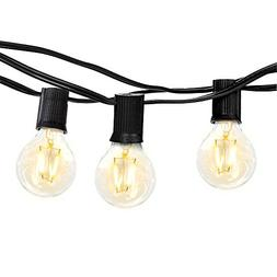 Brightech Ambience PRO Outdoor Globe String Lights with G40