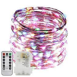 ErChen Battery Operated 40 FT 240 Led Fairy Lights, Remote C