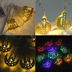 Battery Operated Islam Eid Mubarak Ramadan LED String Lights