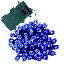 Qedertek Battery String Lights, Outdoor String Lights 50 LED