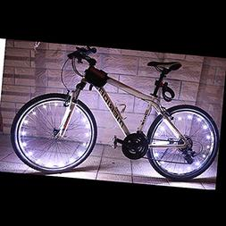 elegantstunning Bicycle Bike Rim Lights, LED String Light Co