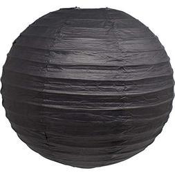 """Just Artifacts 8"""" Black Chinese/Japanese Paper Lantern/Lamp"""