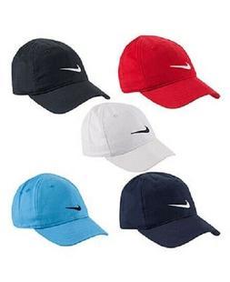 Boys Nike Toddler & Infant Baby Cap Adjustable Hat Black Gra