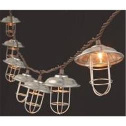 The Gerson Company 2201240 Metal and Wire Cage Patio Light S