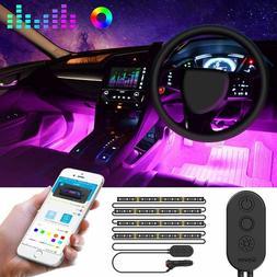 Car Interior Lights Govee Unifilar Car Led Strip Light Minge