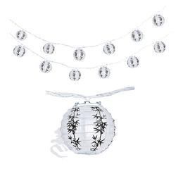 """Chinese Japanese Paper Lantern 4""""  Party String Lights  Luck"""