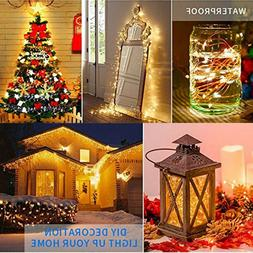 Christmas Decor  String Lights Electric Plug-in Multi Color