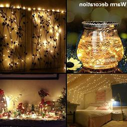 Christmas Decor String Lights Electric Plug-in Multi Color C