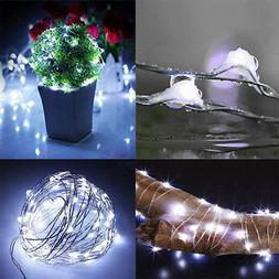Christmas Decor String Lights Kit Electric Plug-in Colorful