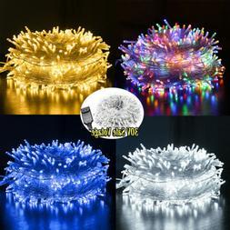 Christmas Fairy String Lights 20-500 LEDs Wedding Party Holi