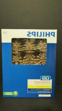 PHILIPS CHRISTMAS LED SUGARED PINECONE LIGHTS STRING LIGHTS