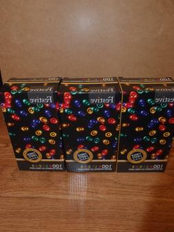 Festive Christmas String Lights, Battery Operated Timer LED,