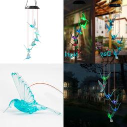 Color Changing Hummingbird LED Solar String Lights Mobile Wi