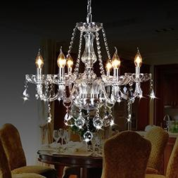 CRYSTOP Classic Vintage Crystal Candle Chandeliers Lighting