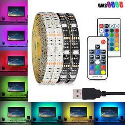DC 5V USB LED Strip 5050 IP65 RGB LED Light Flexible For TV