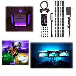HitLights UL-Listed LED Light Strip Accent Kit, 4 x Pre-Cut