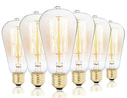 Edison Bulbs, Rolay 40w Dimmable Industrial Pendant Filament