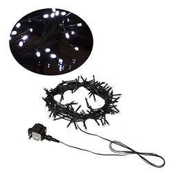 ALEKO EL100LEDCCWH Christmas Holiday String Moon Lights Exte