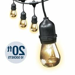 Feit Electric 20ft Outdoor String Lights