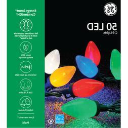 GE Energy Efficient Smart Colorite 50-Light LED Multi-Color