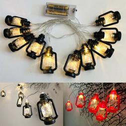Energy-saving Lantern Shape LED Fairy String Lights Home Dec