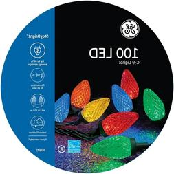GE Energy Smart 100-Count 49.5-ft Stay Bright Multicolor C9