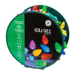 GE Energy Smart 150-Count C6 49.6-ft Multicolor LED Christma