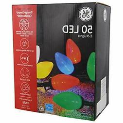 GE Energy Smart 50 Multicolor LED C-9 Holiday/Christmas Ligh