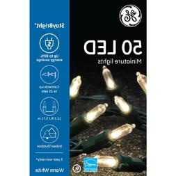 GE Energy Smart 50-Count Stay Bright Warm White LED Mini Cop