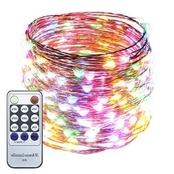 ER CHEN 66ft Led String Lights,200 Led Starry Lights on 20M