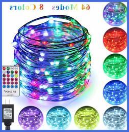 Erchen 64 Modes 7 Colors + Multicolor LED String Lights Pl 4