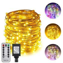 ErChen Dual-Color LED String Lights, 66 FT 66FT 200LED, Mult