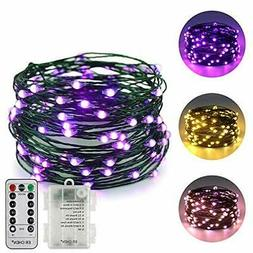 ErChen Dual-Color LED String Lights