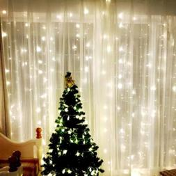 Fairy Curtain String Lights 9.8 X 9.8ft 304 LED Outdoor Indo