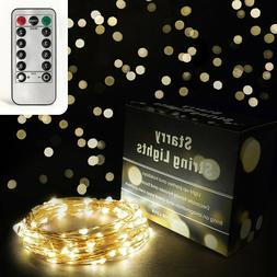 Fairy Lights Dimmable Starry String Light Soft White LED Cop