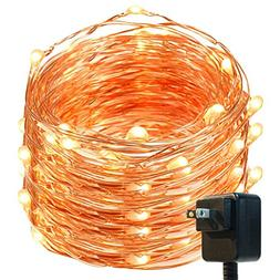 Fairy Lights, DecorNova 120 LEDs 40 Feet Flexible Copper Wir