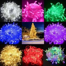 Fairy String Lights 500 LED Christmas Tree Wedding Xmas Part