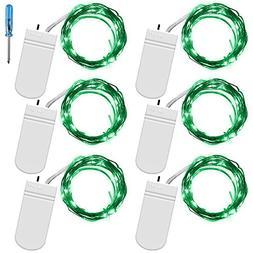 Fairy String Lights with Screwdriver, SENHAI Set of 6 LED Li