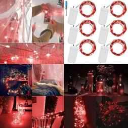 Fairy String Lights W Screwdriver Set Of 6 LED Copper Wire 2