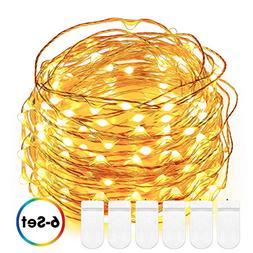 Fairy string Lights, DecorNova 5 Feet 30 LED Battery Operate