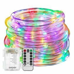 YIHONG Fariy Lights LED Rope Lights Battery Operated String