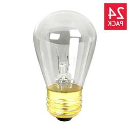 Feit String Light & Sign Replacement S14 Bulbs Incandescent
