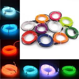 flexible neon led el glow wire interior